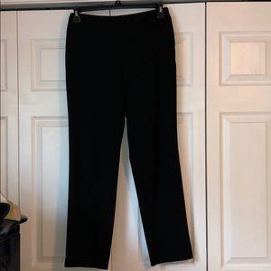 JM Collection Size 8 Black Dress Pants